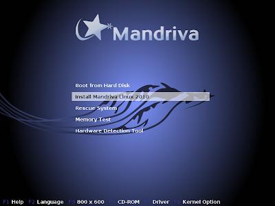 Mandriva Linux 2010 Spring - DVD 2010_installfree
