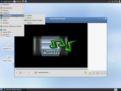 Xubuntu 10.10 Xubuntu-10.10-screenshot-multimedia