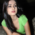 Sonal Chauhan in Spicy Green Top