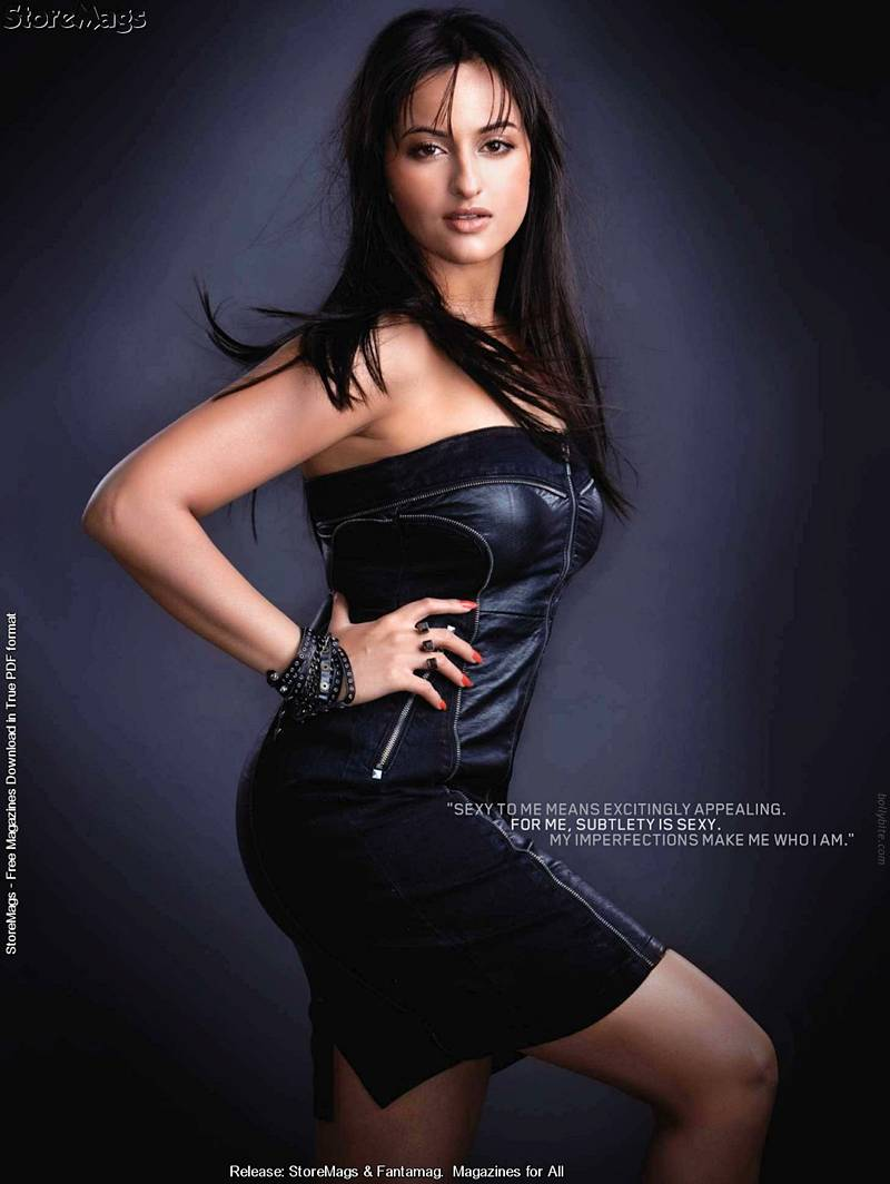 Sonakshi Sinha 06 ... Rivers who recently did a very fun service scene with Jake Cruise.