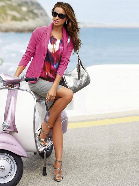 Gorgeous Irina Shayk | Madeleine Catalogue Spring Summer 2011