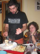En casa de Maribel y Manolo y por una vez Cine-Comida-Forum (21/02/10)