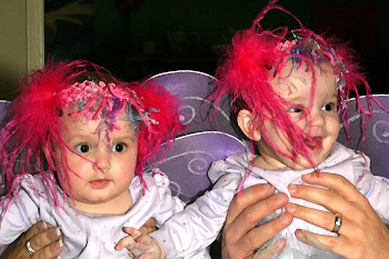 Twins first Halloween '10