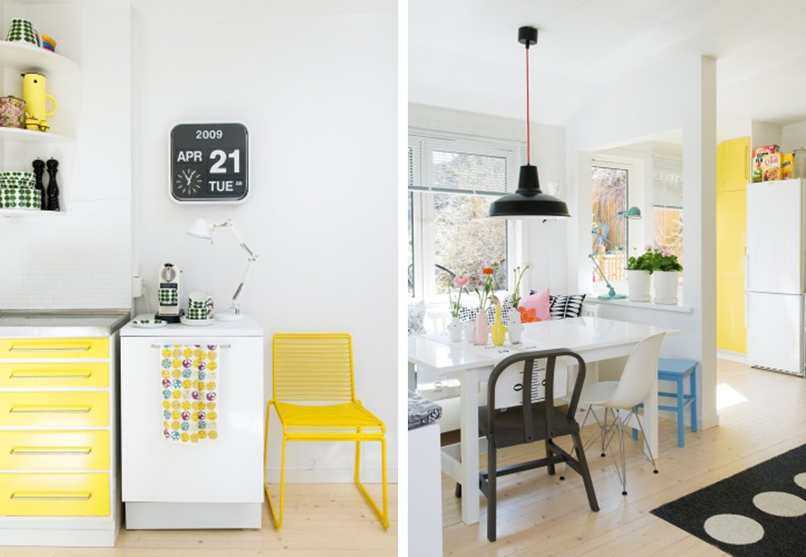 Yellow Kitchen Colors Home Design Jobs