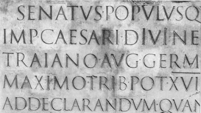 Latin Lettering