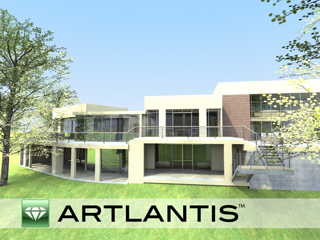 archicad first steps artlantis first rendering. Black Bedroom Furniture Sets. Home Design Ideas