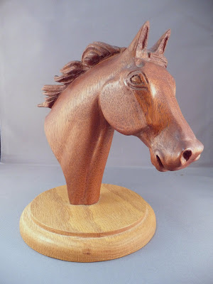 Grandpa's Horse Carving