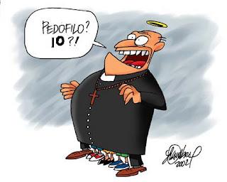 E' in atto il tentativo di cancellazione di questa lista di preti e suore pedofile in Italia