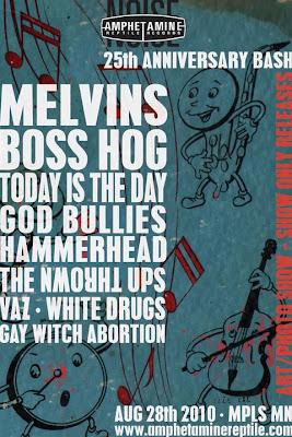News: Amphetamine Reptile 25th Anniversary Festival Lineup