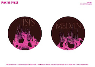 News: Melvins/Isis Split - Finished Artwork + Track Listing