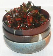 Homemade Pa Kimchee