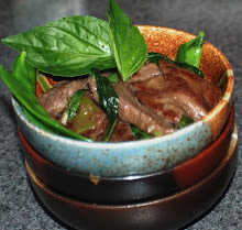 Thai Beef basil with Pea Pods