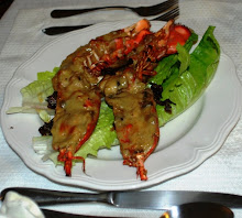 My husband's lobster thermidor