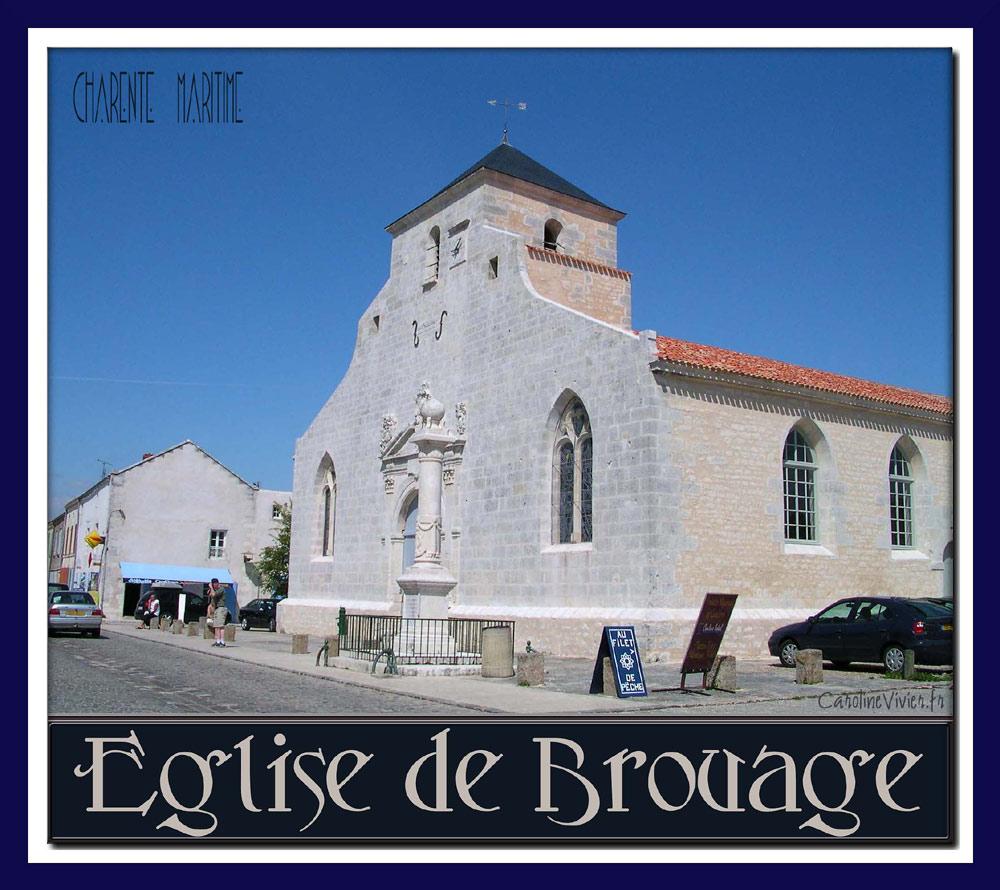 L'Eglise de Brouage