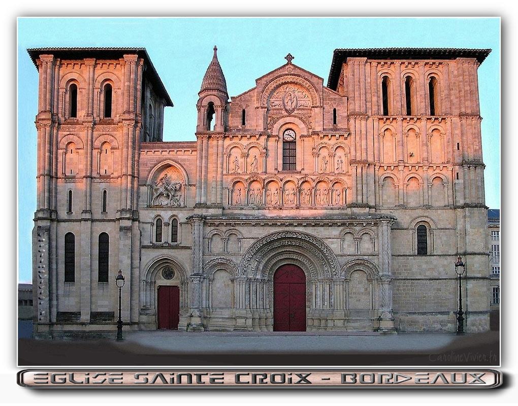 Eglise Sainte Croix - Bordeaux