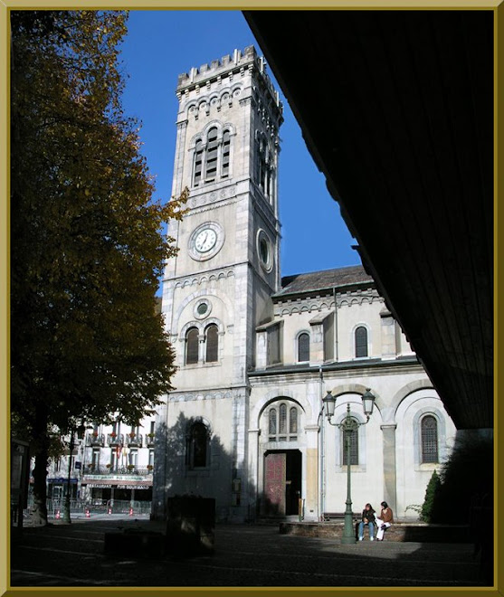 Vue de L'Eglise de Luchon