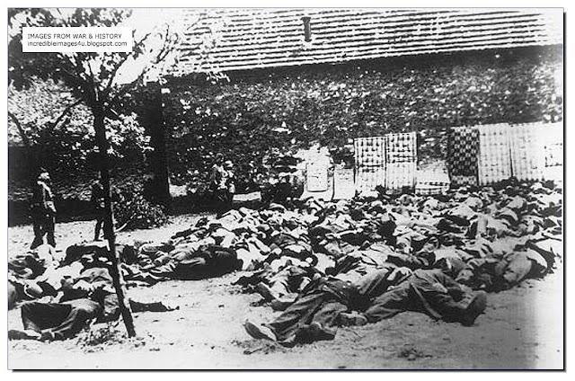 massacre scene Einsatzgruppen squad