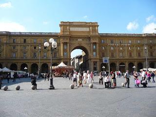 Firenze Piazza Repubblica