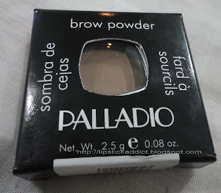 Palladio Makeup on Palladio Brow Powder In Taupe   Lipstick Addict   Beauty Reviews And