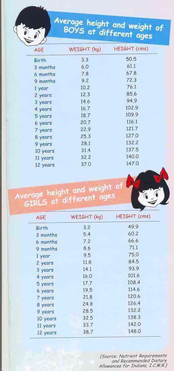 Height And Weight Chart Child 1985897 1cashingfo