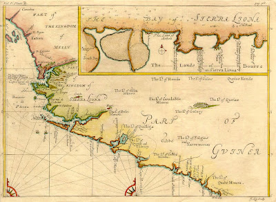 Coast of Guinea and Bay of Sierra Liona - Johannes Kip (1653-1722)