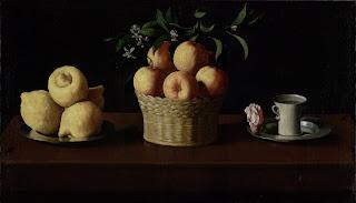 Limones, naranjas y una rosa - Francisco de Zurbarán