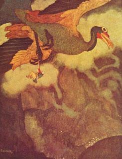 El mitológico ave de rapiña Roc