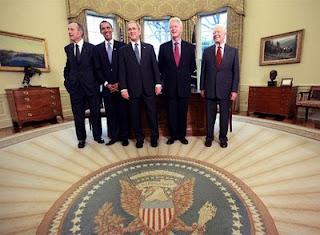 Cinco césares en el Despacho Oval de la Casa Blanca