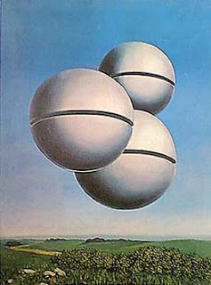 Voice of Space - René Magritte