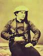 Retrato de un vizcaíno. Puede tratarse de Ramón Araquistain, el único contratista no británico del ferrocarril