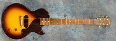 Una de las guitarras Gibson 'Les Paul'