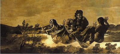 Átropos o Las Parcas - Francisco de Goya
