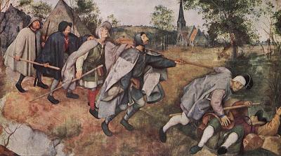 La parábola del ciego - Pieter Brueghel, el Viejo