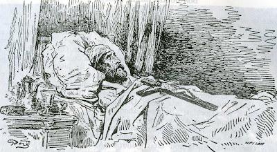 Muerte de Don Quijote - Gustavo Doré
