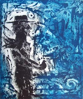 Agua tinta de Juan Carlos Mestre