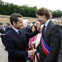 Nicolás y Jean Sarkozy