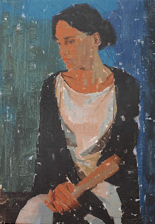 Mujer sentada - Pedro Fausto