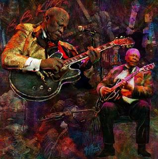 B. B. King y su gitarra 'Lucille' - Meg Frank