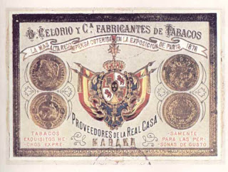 Anuncio de Benito Celorio (asturiano de origen): 'Tabacos exquisitos, hechos expresamente para las personas de gusto'