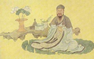 Bai Juyi (Po Chu Yi) - Chen Hongshou