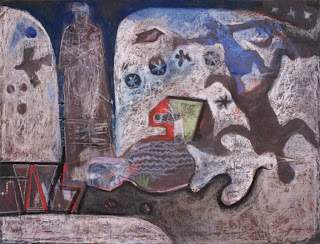 Hombre con sombra - Miguel Carini
