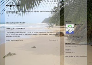 Beach Template