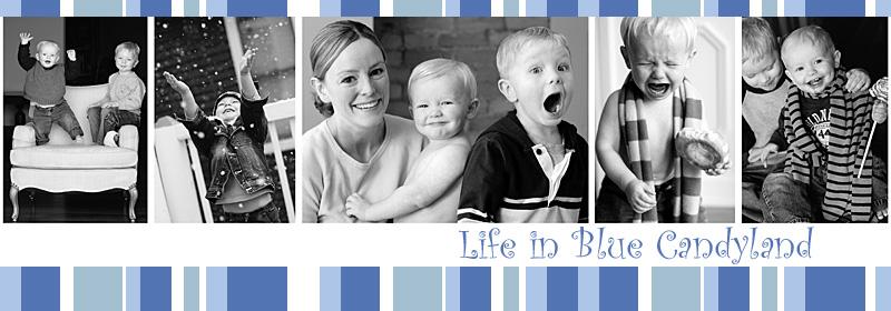 life in blue candyland