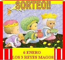 Inscribete a mi sorteo Los Tres Reyes Magos!!!