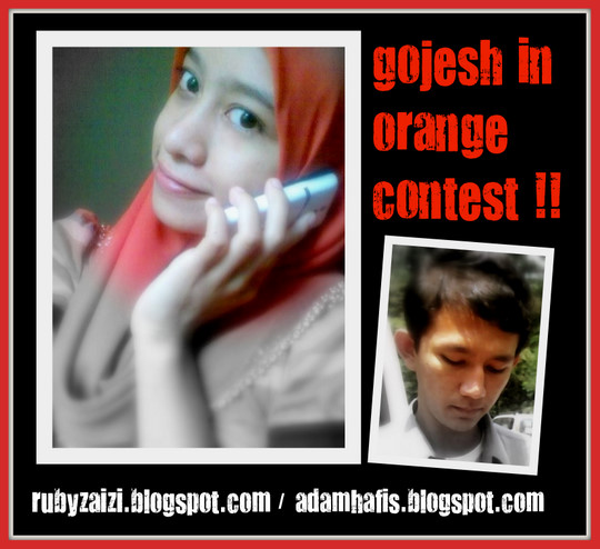 Gojesh in Orange contest!