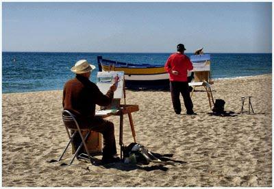 Pintura y fotografía, dos formas distintas para ver una misma realidad