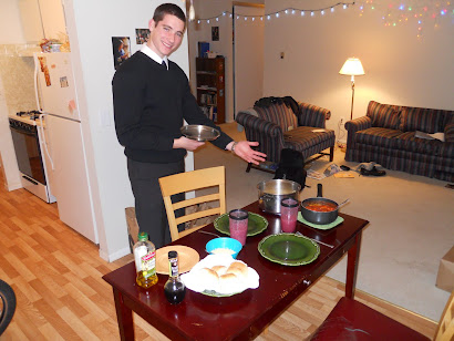 Elder Browning the chef