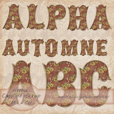 http://cajoline-scrap.blogspot.com/2009/10/freebie-alpha-automne-pu-et-cu.html