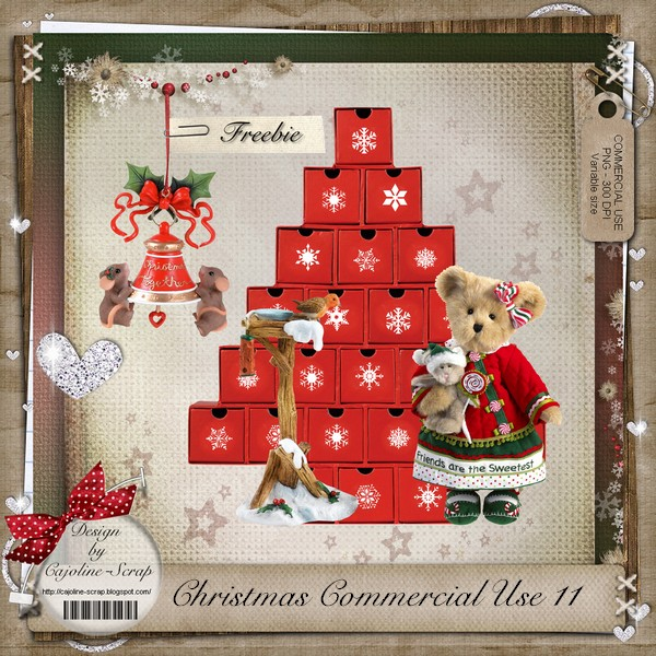 CHRISTMAS COMMERCIAL USE 11 Cajoline_christmasCU11_pv