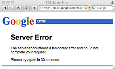 Dear GMail, Never Crash Again
